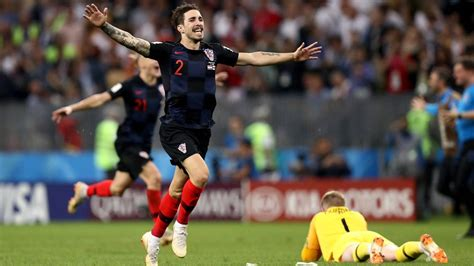 Croatia Knock England Out Fifa World Cup With Extra