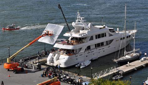 Nadine Yacht Sinking Plane Crash by Leonardo Dicaprio Filming Aboard Megayacht M