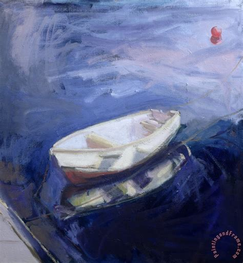 Boat Buoy by Sue Jamieson Boat And Buoy Painting Boat And Buoy Print