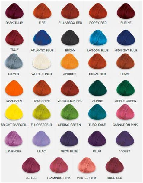 Names Of Hair Dyes by Names Of Hair Colors 2 Name That Color