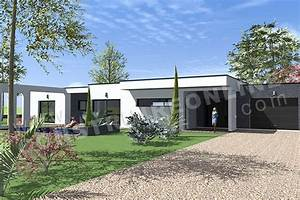 plan de maison contemporaine anaby With wonderful type de toiture maison 19 le guide pour la construction de votre maison guide