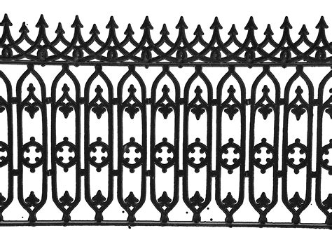 Hi-res Isolated Iron Fence By Velcrowmistress On Deviantart