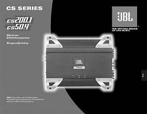 Jbl Cs 50 4  Serv Man6  User Guide    Operation Manual