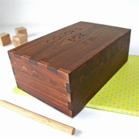 personalised solid walnut wood engraved keepsake box