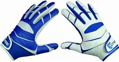 Gloves Football Soccer Ball Goalie Holding Receiver