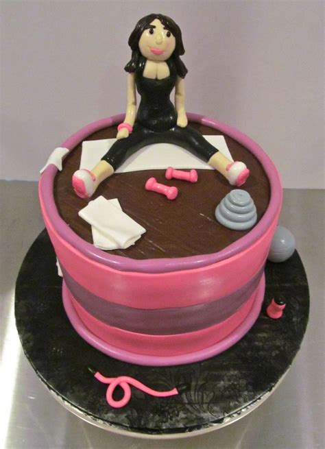 exercise cake milk honey cakery pinterest cakes