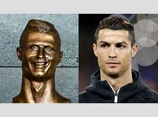 Dodgy Cristiano Ronaldo statue unveiled in his hometown