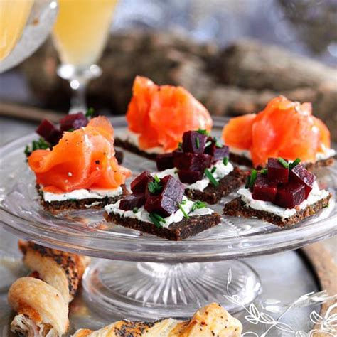 canape recipes uk recipes for 10 of the best festive canapés