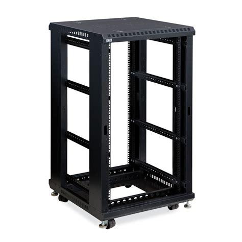 home server rack cabinet kendall howard 3170 3 024 22 22u linier open frame server