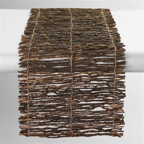 world market table linens coconut twig table runner world market