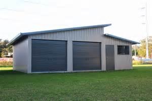 Slant Roof Shed Design by Skillion Roof Sheds And Garages Ranbuild