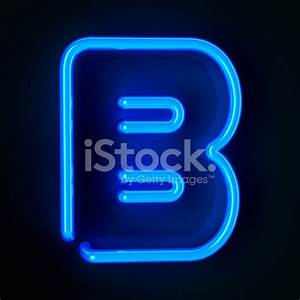 neon sign letter b stock photos freeimagescom With letter b sign