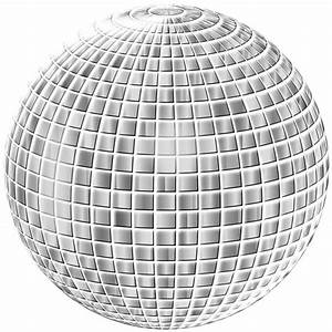 Glimmering Disco Ball Enhanced 3 No Background Icons PNG ...