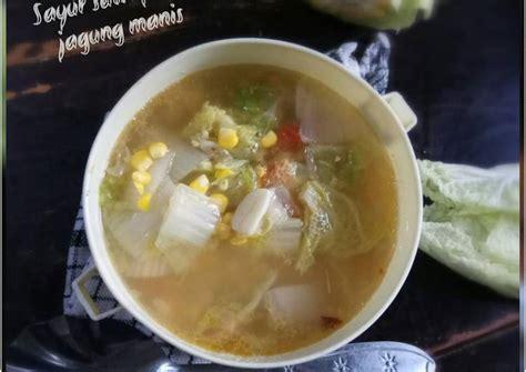 Berbagai macam isian sayuran menjadi bahan utama dari sayur lodeh ini. Resep Sayur sawi putih jagung manis oleh Dapur MayMel ...
