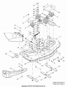 Mtd 13xq698h000  2003  Parts Diagram For Deck Assembly  U0026quot H U0026quot