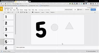 Number Google Slides Sense Frames Ten Shapes