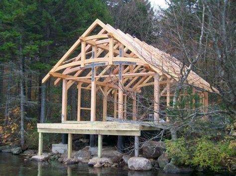 timber frame cabin october raising famulari cabins timber frame study