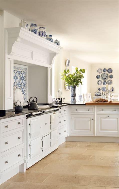 blue  white kitchen decor inspiration  ideas  pin