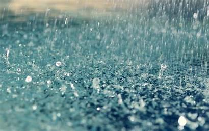 Rain Ground Hitting Meaning Raining Rainfall Drops