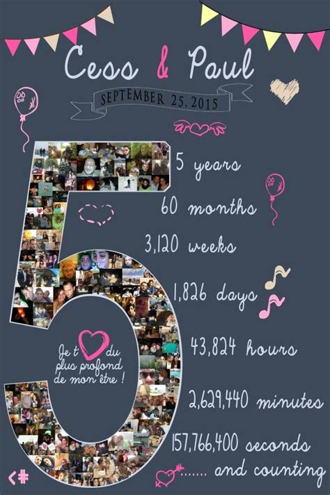 gift for 5th anniversary for him craft ideas boyfriend anniversary gifts diy anniversary