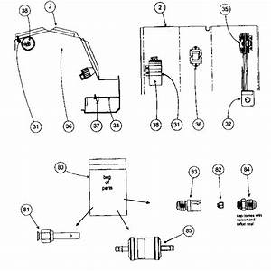 Control Assy Diagram  U0026 Parts List For Model 38hdf030300