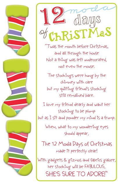 search results for the twelve days of christmas gifts and