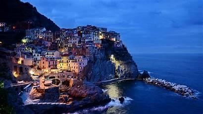 Scenery Italian Italy Wallpapers Manarola