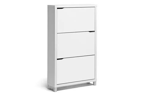 Simms Modern Shoe Cabinet Assorted Colors by Opentip Baxton Studio Simms White Modern Shoe Cabinet