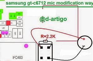 Samsung C6712 Star Ii Duos Mic Problem Jumper Solution
