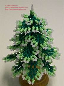 beading for the very beginners decorated christmas tree