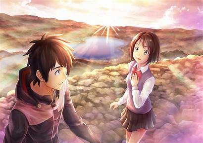 Mitsuha Wa Miyamizu Na Anime Kimi Wallpapers