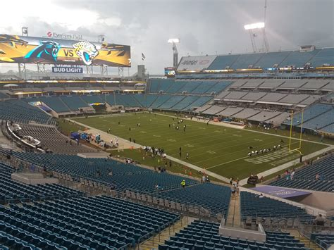 Jacksonville jaguars fans will be able to watch a game this season while sitting in a pool inside the stadium. Jacksonville Jaguars Seating Guide - TIAA Bank Field - RateYourSeats.com