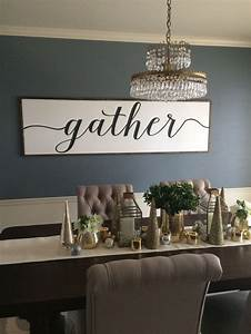 best 25 distressed wood signs ideas on pinterest rustic With best brand of paint for kitchen cabinets with gather wall art