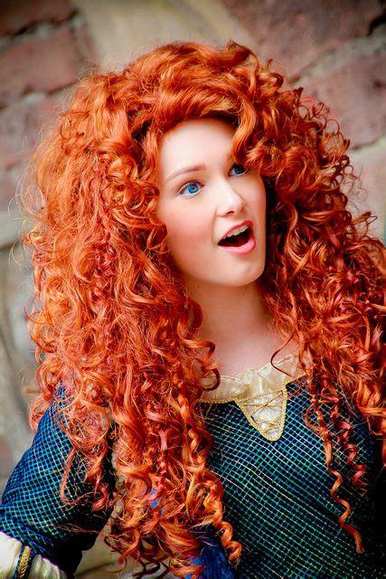 Merida | Beautiful red hair, Hair color orange, Redheads