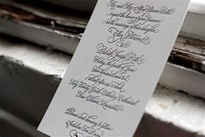 Victoria calligraphy letterpress wedding invitations for Letterpress wedding invitations victoria