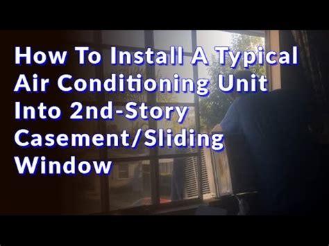 installed  standard window air conditioner  doovi