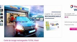 Total Wash Avis : bon plan lavage auto avec la carte total wash 40 vendue moiti prix bons plans bonnes affaires ~ Medecine-chirurgie-esthetiques.com Avis de Voitures