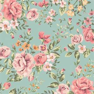 Flower Pattern Wallpaper Design