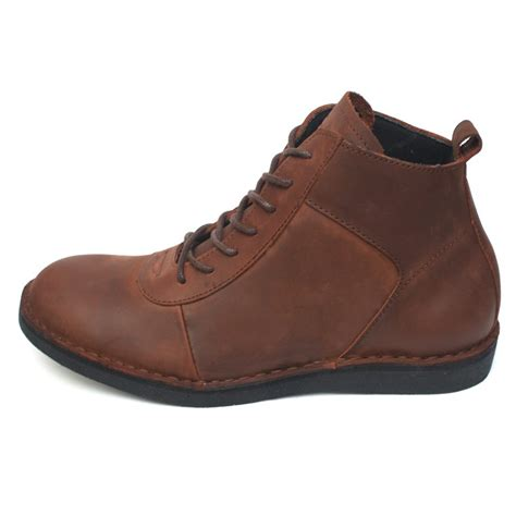 sepatu boots pria lecies brown mall indonesia