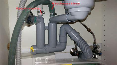 Waschmaschine An Spüle Anschließen by Ikea Waschbecken Siphon Und Anschluss Waschmaschine Und