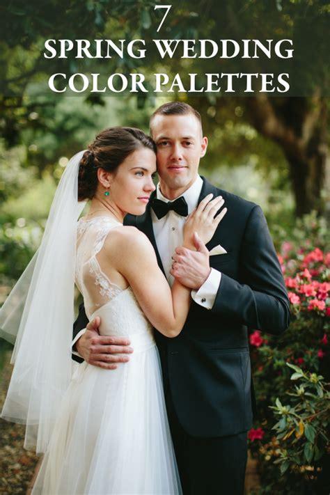 chic color combos  brighten  spring wedding