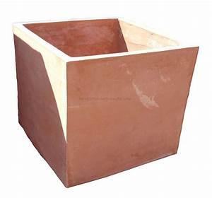 Pflanzkübel Terracotta Eckig : term hlen terracotta impruneta moderner schlichter terracotta kubus ~ Orissabook.com Haus und Dekorationen
