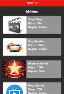 Thop Tv - Free Hd Live Tv Guide For Android