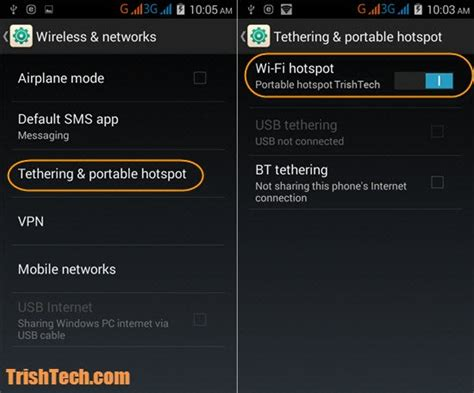 hotspot app for android how to password protect wifi hotspot in android