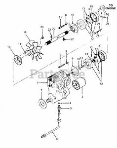 Cub Cadet Parts On The Drive Line Diagram For 1864  14a