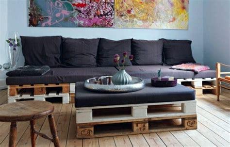 canapé avec des palettes le fauteuil en palette est le favori incontesté pour la