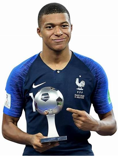 Mbappe Kylian Fifa Cup Render Transparent Football