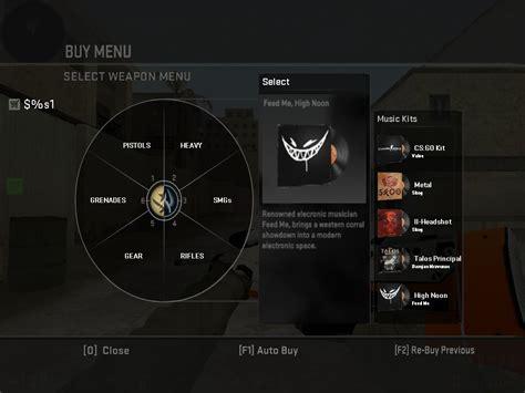csgos buy menu  cs counter strike  gui mods