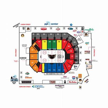 Center Map Ppl Concourse Lgbt Arena Night