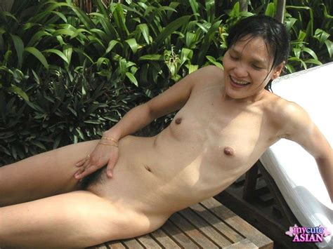 My Cute Asian Asian Wife With Small Breasts Fucked Outdoor